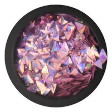 BB 3D Triangle - Violet